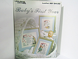 Leisure Arts Baby's First Year  #881 (Image1)