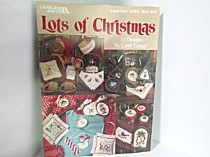 Leisure Arts Lots Of Christmas #894 (Image1)