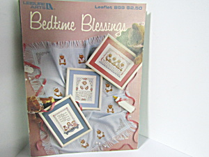 Leisure Arts Bedtime Blessings To Cross Stitch #899