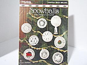 Leisure Arts Snowballs Nine Designed To Crochet #903 (Image1)