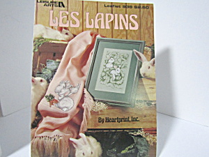 Leisure Arts Cross Stitch Les Lapins #938