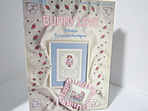 Leisure Arts Cross Stitch Bunny Love #952