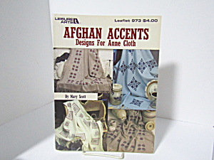 Leisure Arts Afghan Accents For Anne Cloth #973