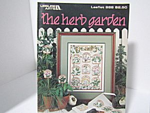 Leisure Arts The Herb Garden #988