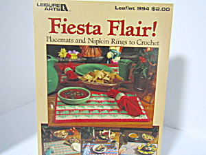 Leisure Arts Fiesta Flair Placemats To Crochet #994