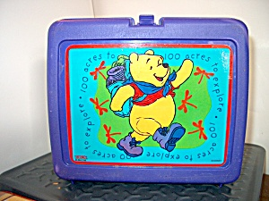 Disney Pooh Bear Lunchbox 100 Acres To Explore
