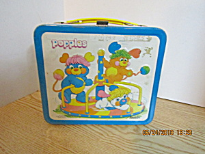 Aladdin Metal Lunchbox The Popples