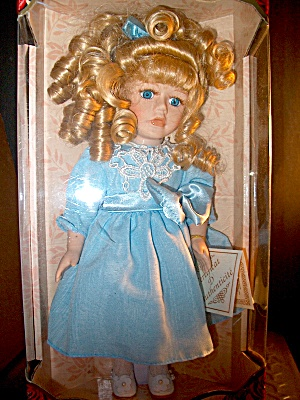 Genuine Fine Bisque Porcelain Doll