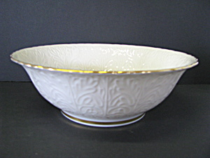 Lenox Arabesque Collection Ivory Serving Dish