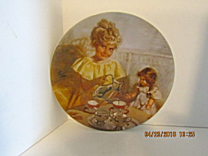 Second Plate In Family Treasure Series Cora's Tea Party