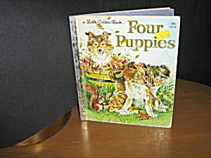 Little Golden Book Four Puppies