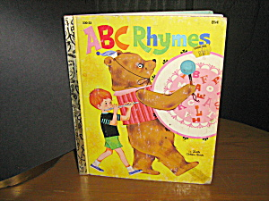 Little Golden Book A B C Rhymes