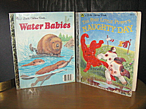 Little Golden Book Poky Little Puppy & Water Babies