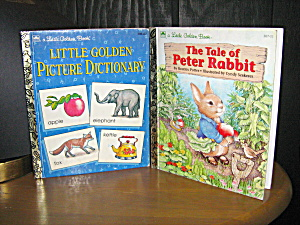 Little Golden Book Peter Rabbit & Picture Dictionary
