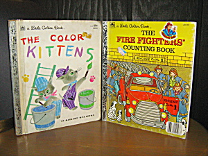 The Fire Fighters Counting Book & The Color Kittens