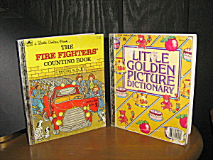Fire Fighters Counting & Golden Picture Dictionary