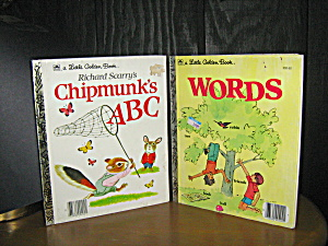 Richard Scarry's Chipmunk's A B C & Words