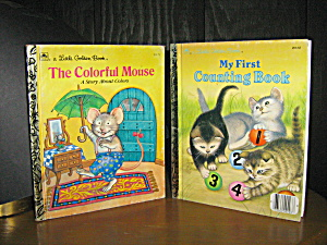 The Colorful Mouse & My Frist Counting Book