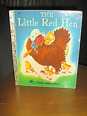 Little Golden Book Vintage, The Little Red Hen