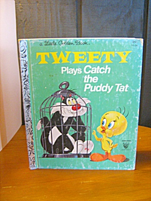Little Golden Book Tweety Plays Catch The Puddy Tat