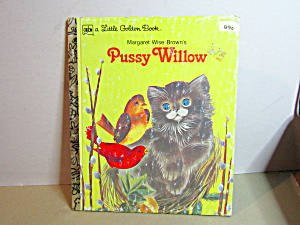 Vintage Little Golden Book Pussy Willow