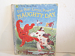 Little Goldenbook The Poky Little Puppy's Naughty Days