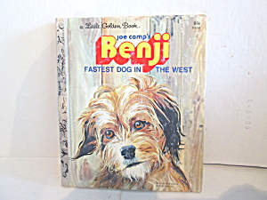 Little Golden Book Benji Fastest Dog In The West