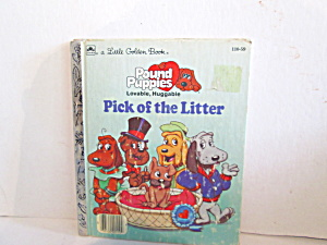 Golden Book Pound Puppies Pick Of The Litter