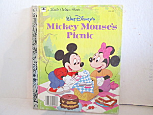 A Little Golden Book Mickey Mouse Picnic
