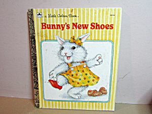 Little Golden Book Bunny's New Shoes