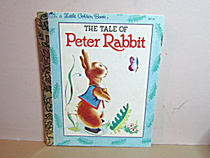 Vintage Golden Book The Tale Of Peter Rabbit
