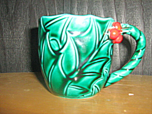 Lefton Green Holly Coffee/tea Cup