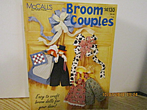 Mccall's Fabric Craft Creates Broom Couples #14130