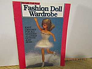 Mccall's Craft Book Fashion Doll Wardrobe Book 1 #8503
