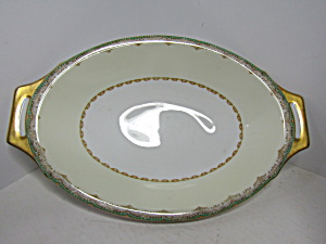 Meito China Hand Painted Serving Vegetable Bowl