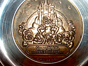 Snow White Golden Anniversary Plate