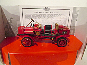 Matchbox Fire Collection 1904 Merryweather Fireengine