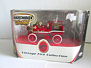 Matchbox Vintagefire Collection1906 Waterous S/p Pumper