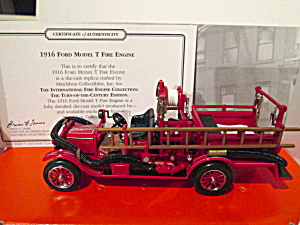 Matchbox Fire Collection 1916 Ford Model T Fire Engine