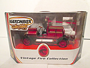 Matchbox Vintagefire Collkection1912 Benz Motor Spritze