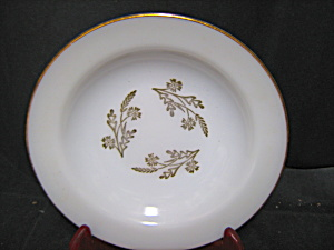 Federal Glass Meadow Gold Soup Bowl