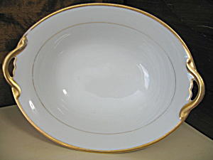 Noritake The Mikado Oval Handled Serving Bowl