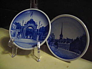 Royal Copenhagen Mini Plate Set