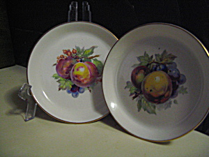 Vintage Mini Royal Staffordshire Fruit Group Plate
