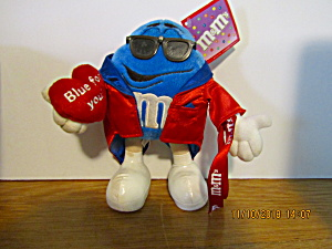 M&m Blue For You Plush Stuffed Toy