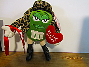 M&m Green In Your Dreams Plush Stuffed Toy