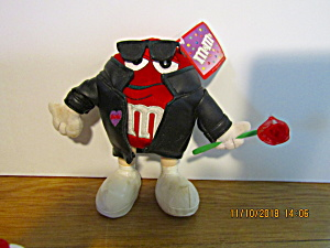 M&m Red Hottie Plush Stuffed Toy