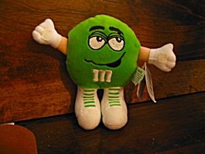 Two M&m Plush Stuffed Swarmees Collectibles