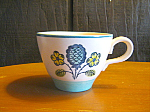 Metlox Poppytrail Blueberry Provincial Coffee/tea Cup,