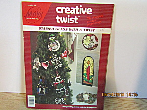 Creative Twist Craft Book Stained Glass With A Twist